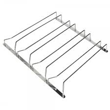 3row stainless steel wine glass rack hanger bar