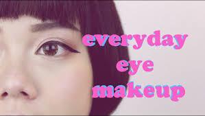everyday eye makeup puppy liner tutorial nictrick