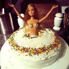 Fun Birthday Cake Ideas For Husband Barbie Stripper Cake For Him