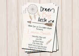 Dream Catcher Baby Shower Invitations Dream catcher Baby Shower Invitation Boho Dream Catcher 50