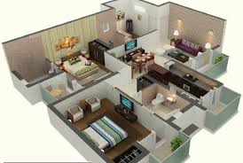 image of 1000 sq ft house plans 2 bedroom indian style 3d