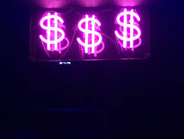 Aesthetic Blue Neon Money Signs (Page 1 ...