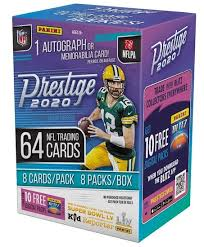 Here you will find boxes, cases, packs, and sets of football cards from upper deck, topps, panini america and other major manufacturers. 2020 Panini Prestige Football Checklist Nfl Set Info Boxes Retail Date