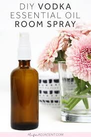 diy vodka room spray with essential
