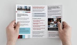 Tri Fold Brochure How To Design A Good Tri Fold Brochure