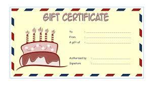 birthday gift voucher template birthday gift certificate template birthday certificate printable birthday gift certificate template word free birthday gift