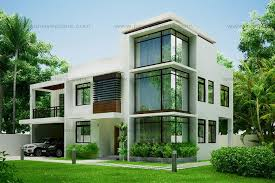 Modern Houses Design On House Intended Modern Plans 15
