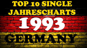Top 10 Charts 1993 Top 10 Single Jahrescharts Deutschland 1993 Year End Single Charts Germany Chartexpress