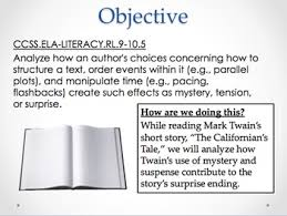 th grade short stories lesson plans individual resources   suspense lesson mark twain s short story