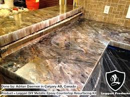 exotic diy countertop resurfacing countertop diy concrete countertop resurfacing