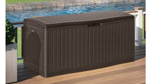 E Suncast 124 Gallon Extra Large Deck Box