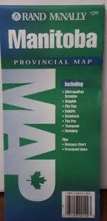 Manitoba Distance Chart Rand Mcnally Manitoba Provincial Map Rand Mcnally And