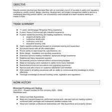 Pipefitter Foreman Resume Samples Plumber Resume Objective Resume Objective For Fresher Resume Top 1