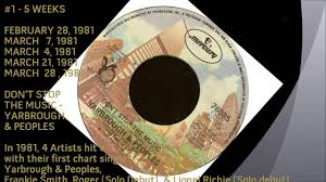 Billboard 1 R B Singles Of 1981