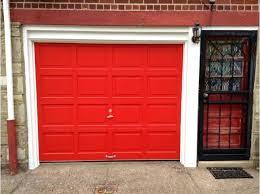 red garage door bright red garage door hammerite garage door paint smooth red