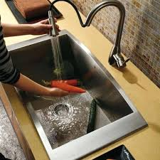 undermount stainless sink stainless steel gauge single bowl