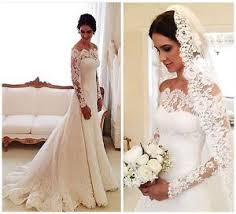 ebay cheap wedding dresses. image is loading vintage-long-sleeve-lace-wedding-dresses-off-the- ebay cheap wedding dresses