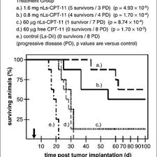 Ced Frequency Allocation Chart Treatment Of Rats Bearing Orthotopic U87 Tumors With Single