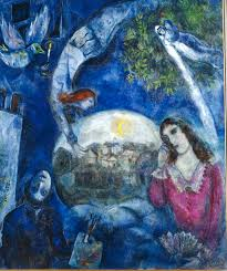marc chagall around her autour d elle marc chagall painting marc