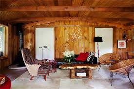 Small Picture 20 Charming Living Rooms With Wooden Panel Walls Rilane