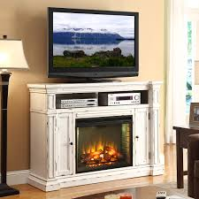 new castle 58 fireplace a center tv stand mantel in distressed white