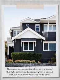 Navy Blue House Exterior White Trim Black Door And Shutters - House exterior trim
