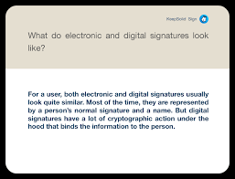 How To Do An Electronic Signature Digital Signature Vs Electronic Signature Keepsolid Blog