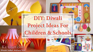 Chart Decoration Ideas For School Diy Diwali Project Ideas For Children Schools K4 Craft