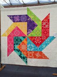 656 best Rainbow Quilts images on Pinterest | Rainbow quilt, Easy ... & Blue Mountain Daisy: My Other Ribbon! & Show Quilts - this one is from Mt  Vincent quilts Adamdwight.com