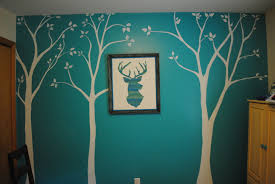 good teal wall decor