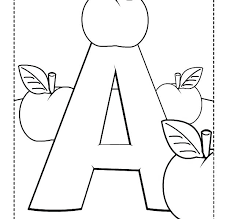 Free Printable Letter Coloring Pages Letters Coloring Pages For