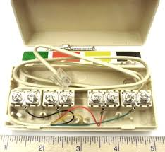 similiar telephone wiring junction box keywords wiring new telephone lines has 2 screws each for standard telephone