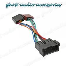 car stereo radio iso wiring harness adaptor loom for kia picanto hy image is loading car stereo radio iso wiring harness adaptor loom