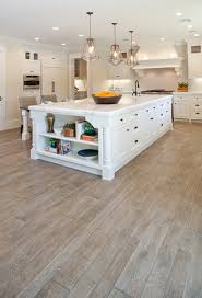 White Kitchen Wood Floor 2