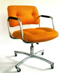 via office chairs. Via Office Chairs. Vintage Desk Chair. Mid-century. Upholstered. Mustard Chairs O