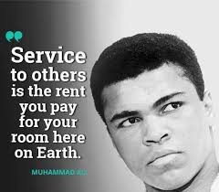 Quotes About Service To Others Amazing Service To Others Muhammad Ali[48 X 48] QuotesPorn