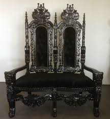 king and queen throne chairs for atlanta