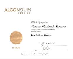ece diploma miss victoria s teaching portfolio ece diploma