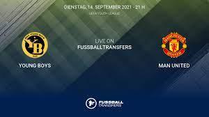 Ergebnis Young Boys - Man United (0-1) der 1. Spieltag UEFA Youth League  2021/2022 14/9