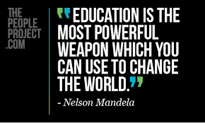 The Education People | Education is the most powerful weapon which ... via Relatably.com