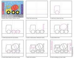 How to Draw a Fire Engine by Dover Books via inkspired musings ...