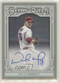 2013 Topps Gypsy Queen Wade Miley #GQA-WM Auto | eBay