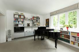 office contemporary design. Home Office With Piano Modern Contemporary Design Dining Room
