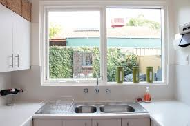 Decorating Kitchen Windows Decoration Kitchen With Windows Ideas Rs Cohen And Hacker White