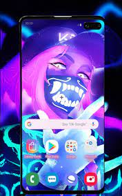 Neon Girl Wallpaper for Android - APK ...