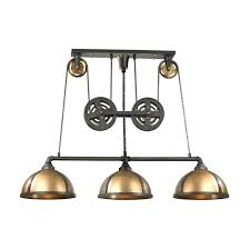 vintage pulley lights great imperative awesome industrial pulley kitchen pendant lighting fixture with lights and copper shade glass for island modern