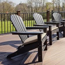 charming brown wooden adirondack chair with beige adirondack chair cushions seat for patio furniture ideas black patio chair cushions