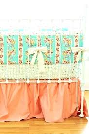 peach nursery bedding mint and hope chest crib set by on baby sets ho
