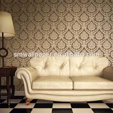 Small Picture 2015 Modern Foaming Embossed Home Decor Pvc Damask Design