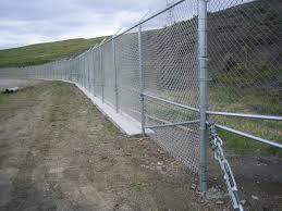 Decorative Security Fencing Commercialgalvanizedchainlink3jpg